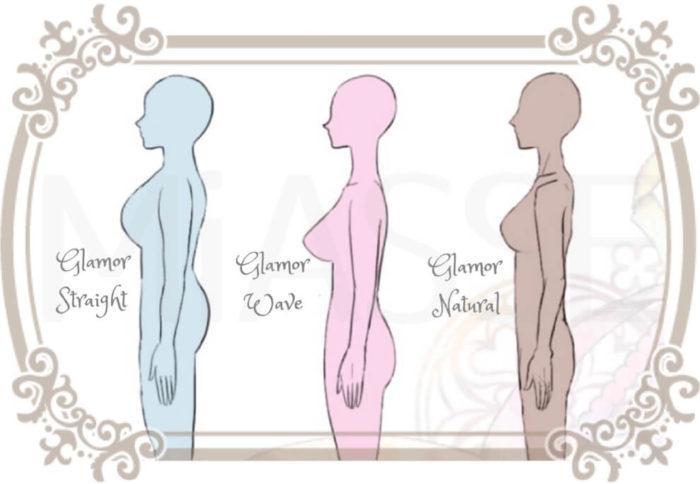グラマーバストさんのための骨格診断(ストレート、ウェーブ、ナチュラル)大きな胸もスッキリ着やせ!